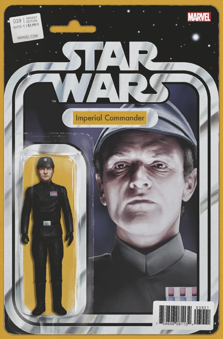 Star Wars #39 (Cover B John Tyler Christopher Action Figure Variant)