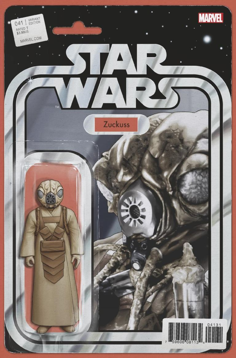 Star Wars #41 (Cover B John Tyler Christopher Action Figure Variant)