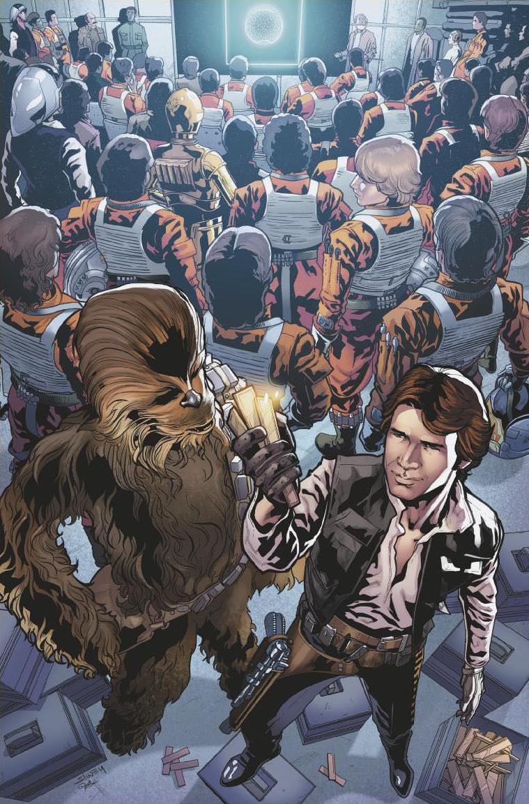 Star Wars Jedi Of The Republic Mace Windu #4 (Cover C Will Sliney Star Wars 40th Anniversary Variant)