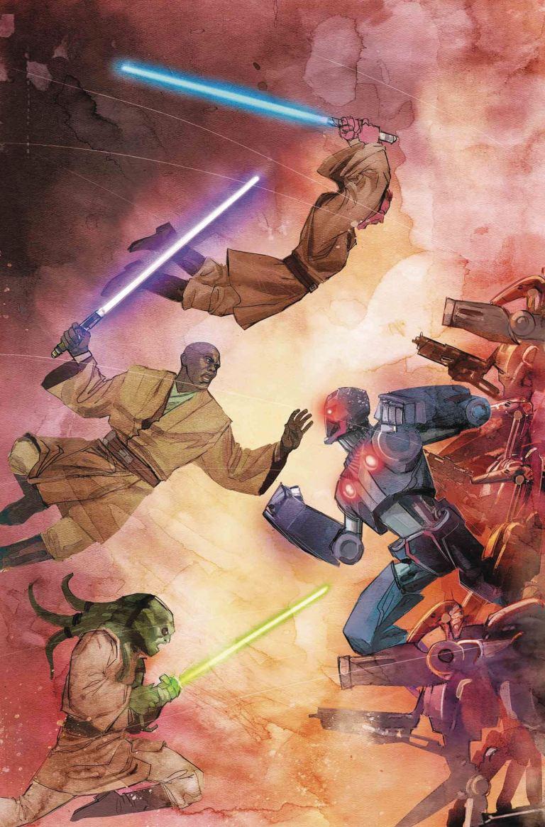 Star Wars Jedi Of The Republic Mace Windu #5 (Cover A Rod Reis)