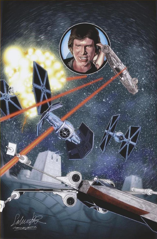 Star Wars Jedi Of The Republic Mace Windu #5 (Cover C Salvador Larocca Star Wars 40th Anniversary Variant)