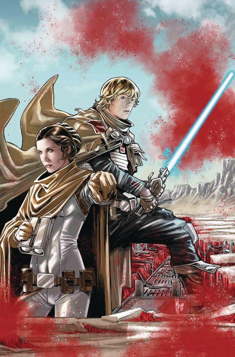 Star Wars The Last Jedi Storms Of Crait #1 (Cover A Marco Checchetto)
