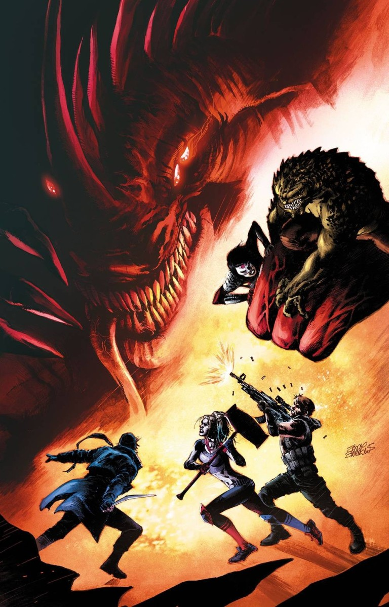 Suicide Squad #32 (Cover A Eddy Barrows)