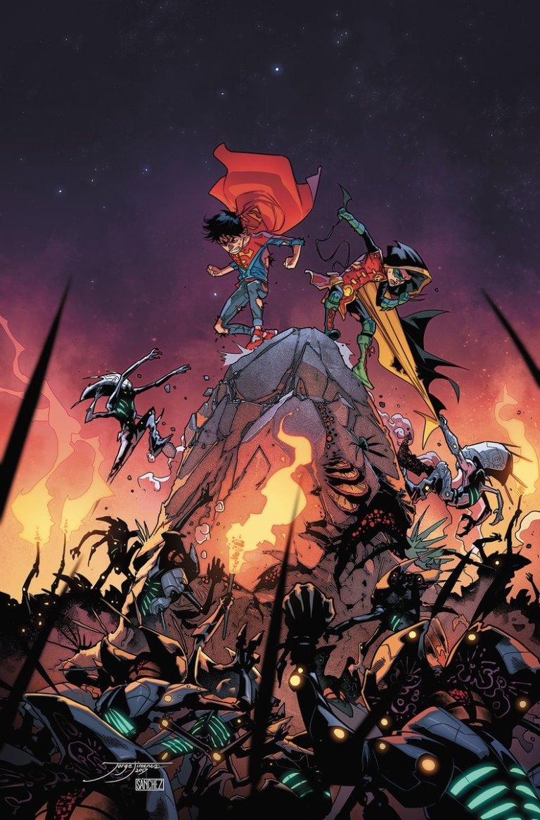 Super Sons #9 (Cover A Jorge Jimenez)