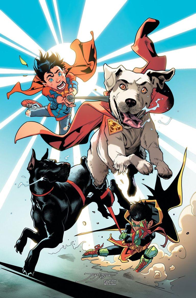 Super Sons Annual #1 (Jorge Jimenez Cover)