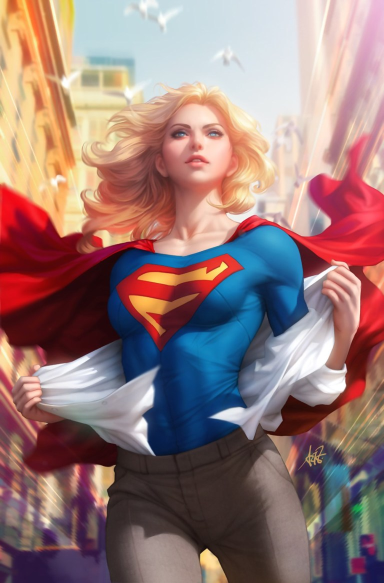 Supergirl #15 (Cover B Stanley Artgerm Lau)