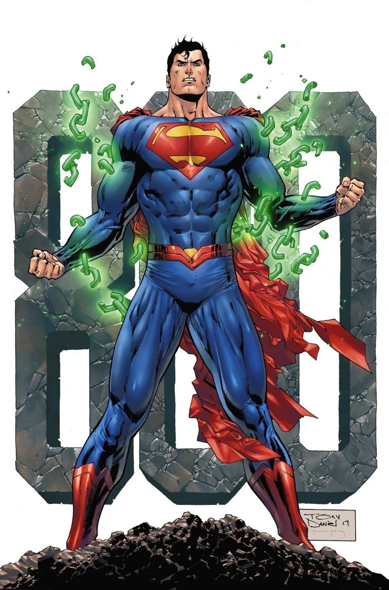 Superman #34 (Cover B Tony S. Daniel Issue 800 Variant)