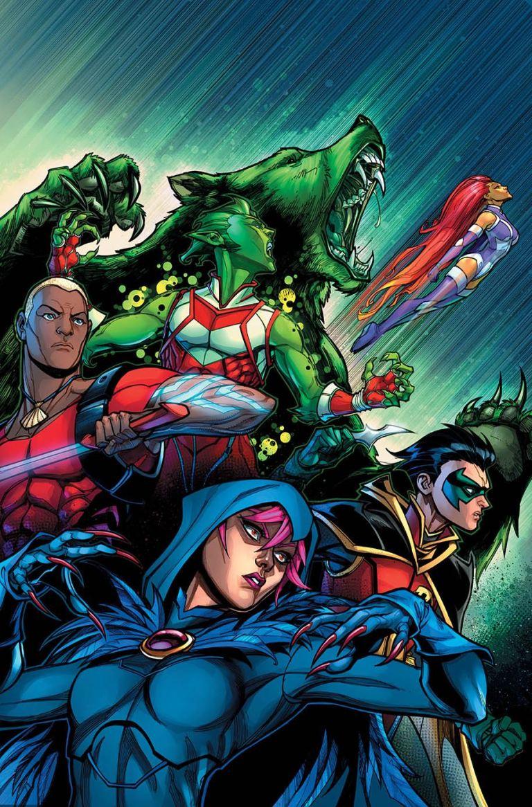 Teen Titans #13 (Cover B Chad Hardin)