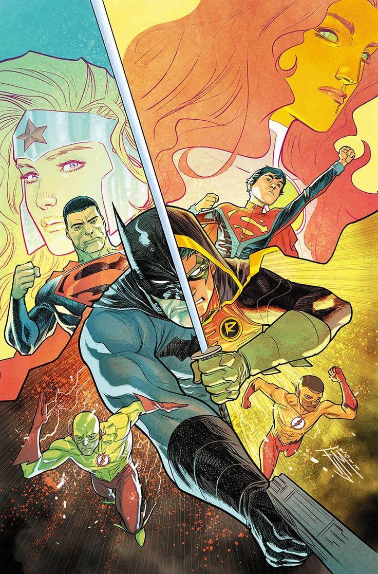 Teen Titans #15 (Cover A Francis Manapul)