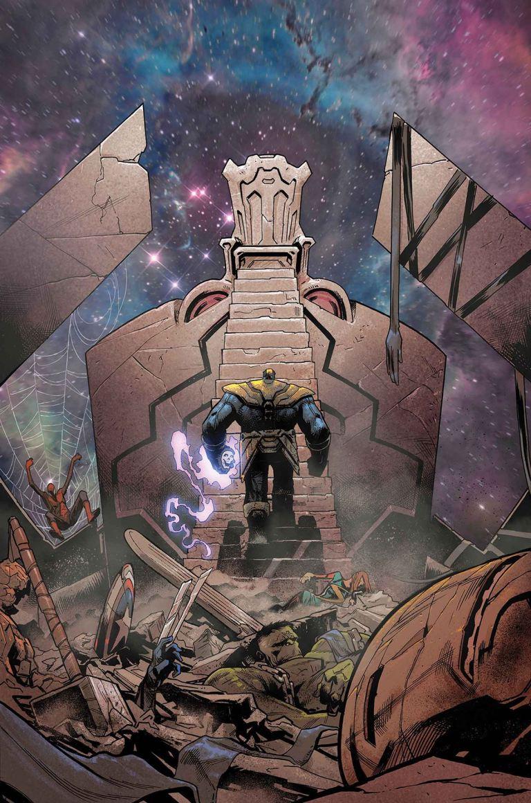 Thanos #13 (Cover A Geoff Shaw)