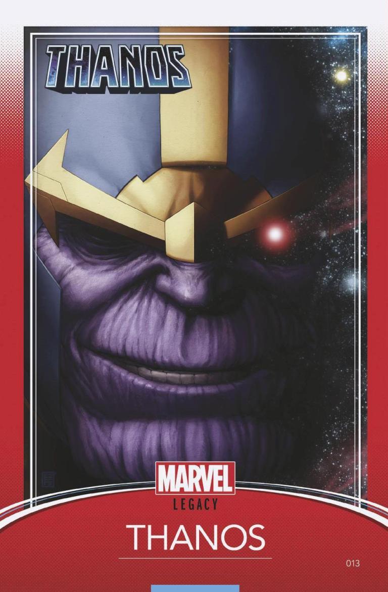 Thanos #13 (Cover D John Tyler Christopher Trading Card Variant)