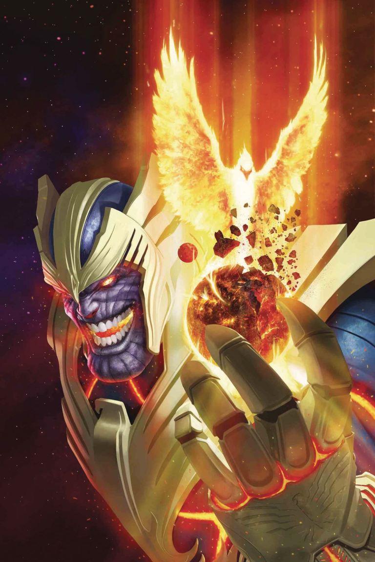 Thanos #14 (Cover B Rahzzah Phoenix Variant)