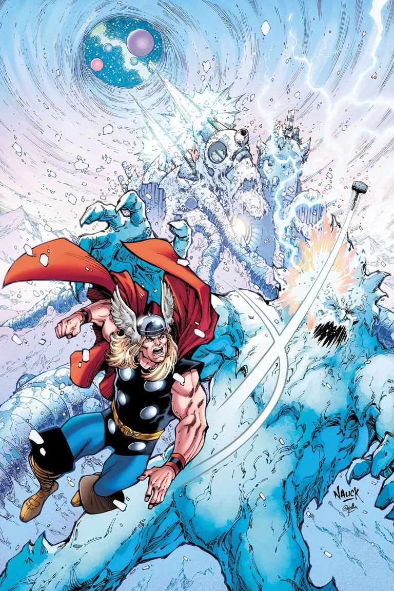 Thor Where Walk The Frost Giants #1 (Cover A Todd Nauck)