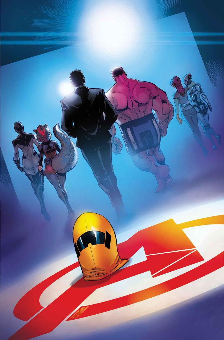 U.S.Avengers #12 (Paco Medina Cover)