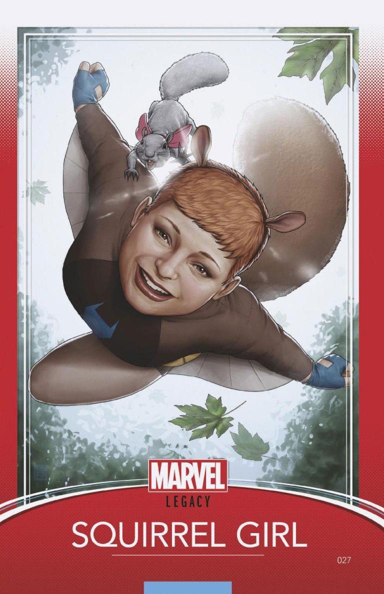 Unbeatable Squirrel Girl #27 (Cover E John Tyler Christopher Trading Card Variant)