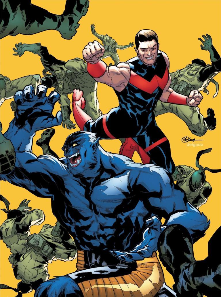 Uncanny Avengers #28 (Cover A R. B. Silva)