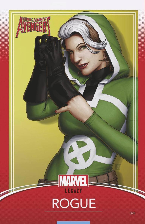 Uncanny Avengers #28 (Cover D John Tyler Christopher Trading Card Variant)