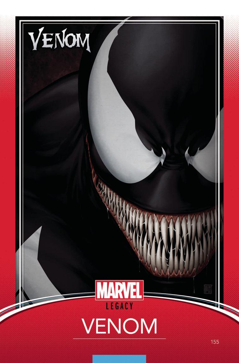 Venom #155 (Cover F John Tyler Christopher Trading Card Variant)