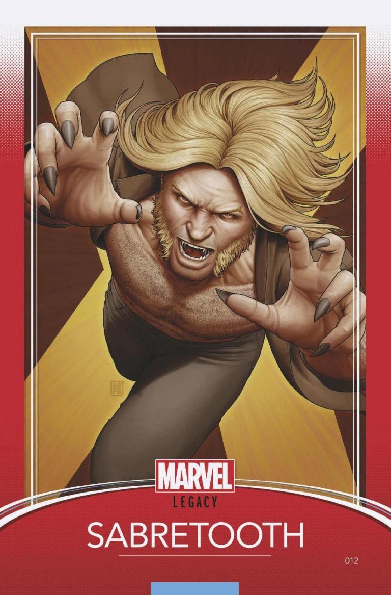 Weapon X #12 (Cover E John Tyler Christopher Trading Card Variant)