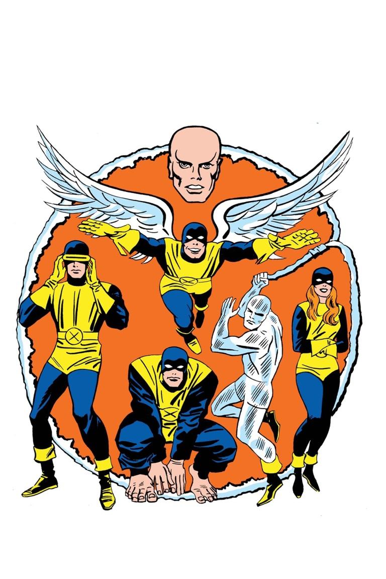 X-Men Blue #13 (Cover E Jack Kirby 1965 T-Shirt Variant