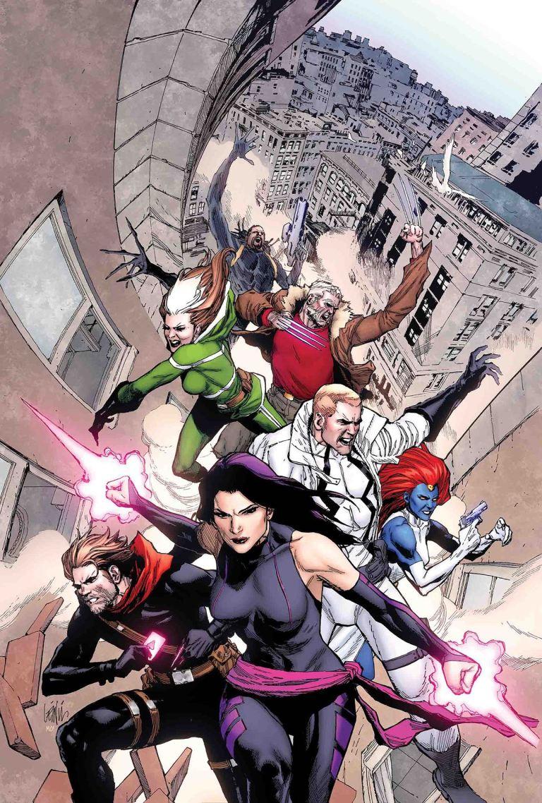 Astonishing X-Men #9 (Leinil Francis Yu Cover)