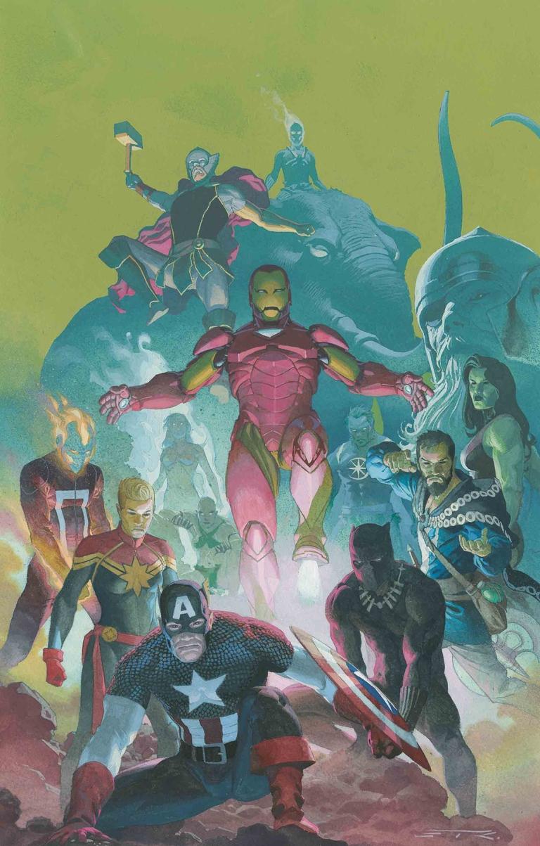 Avengers #1 (Cover C Esad Ribic)