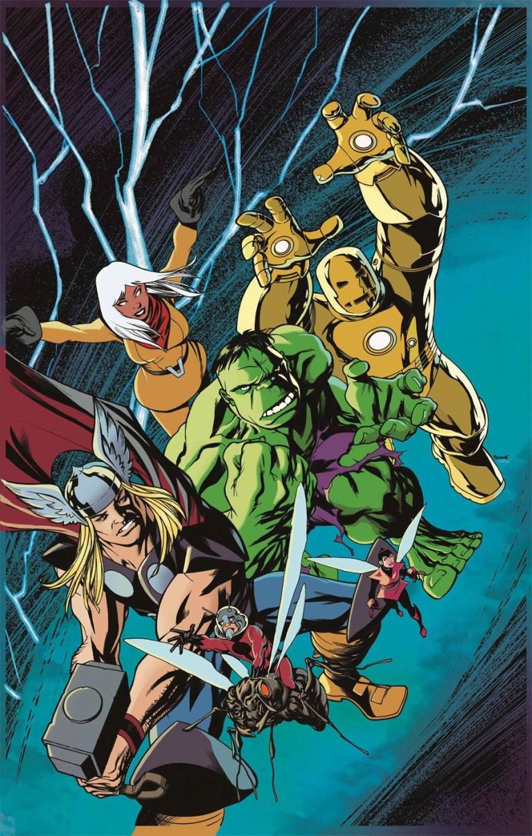Avengers #675 (Cover F Mike McKone Avengers Variant)