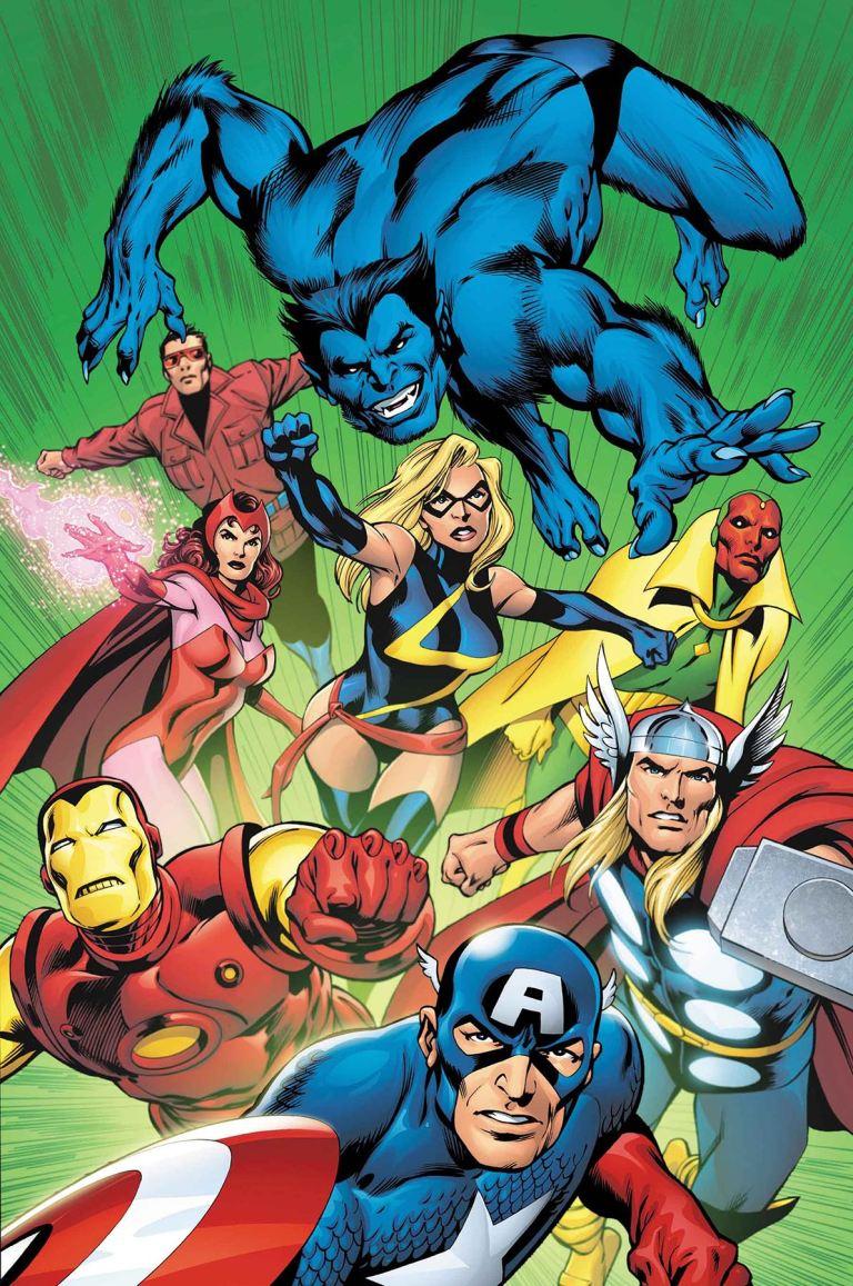 Avengers #676 (Cover C Alan Davis Avengers Variant)