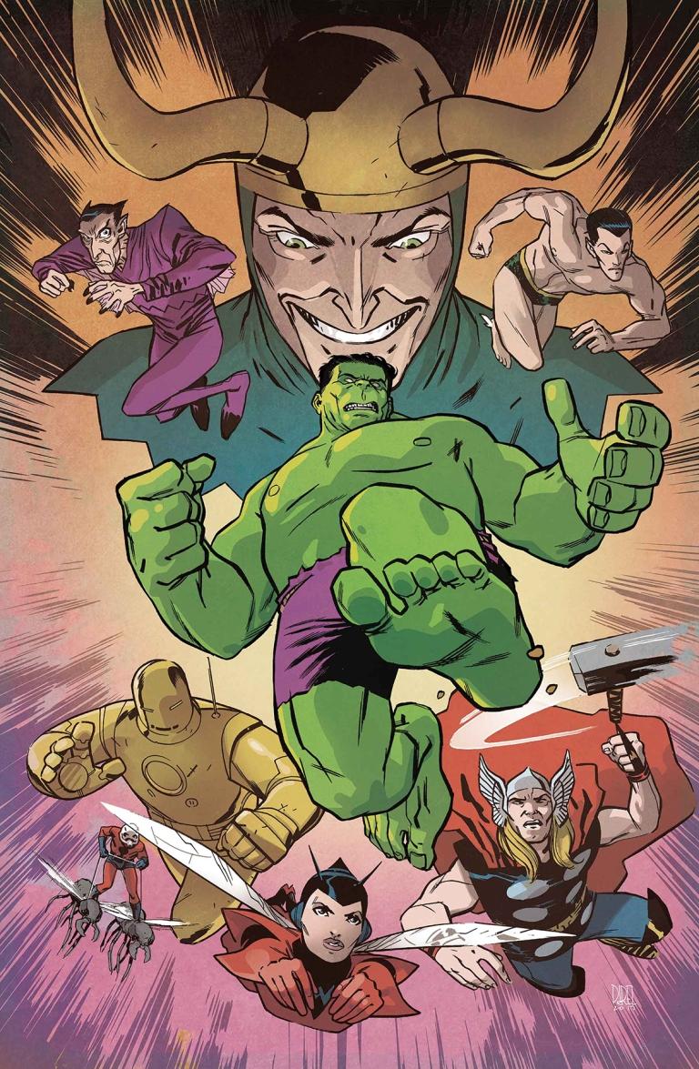 Avengers #679 (Cover C Ramon K. Perez Hulk Variant)