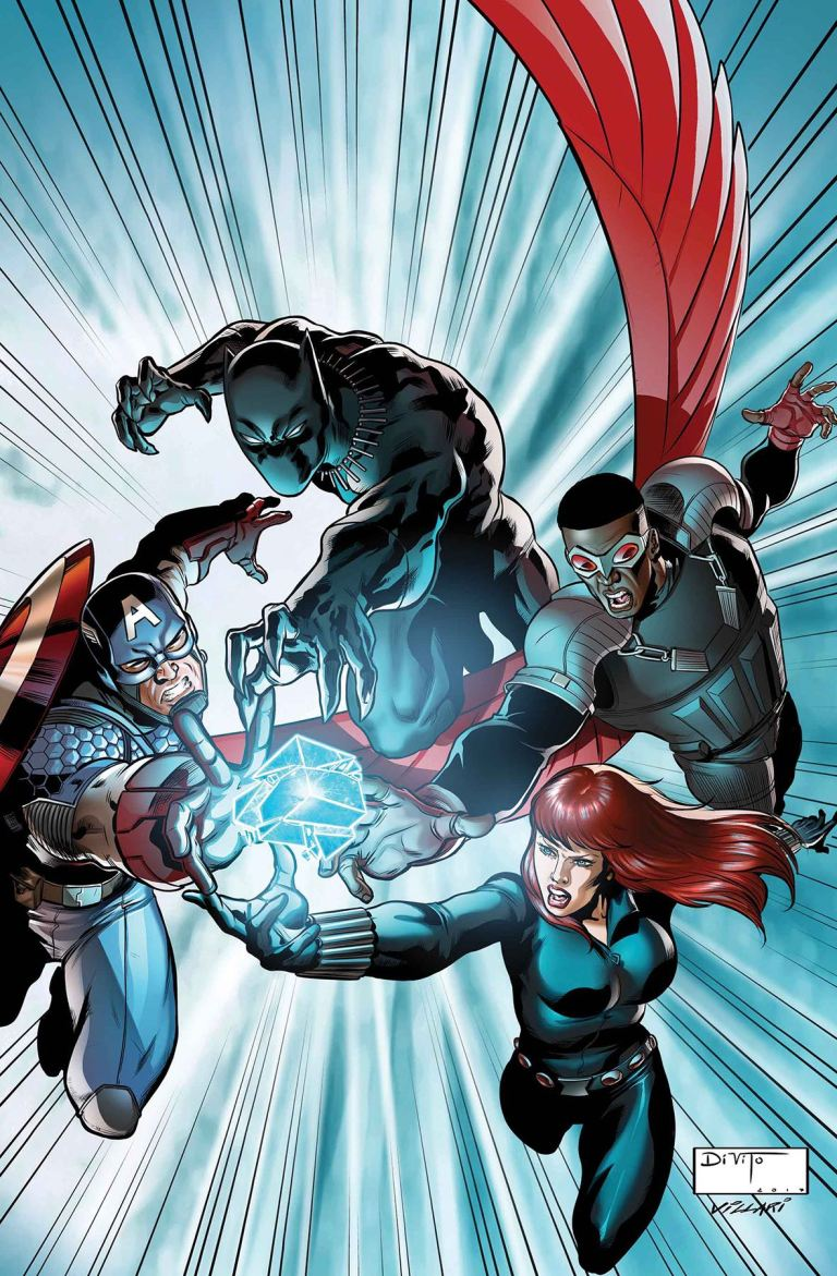 Avengers Shards Of Infinity #1 (Cover A Andrea Di Vito)