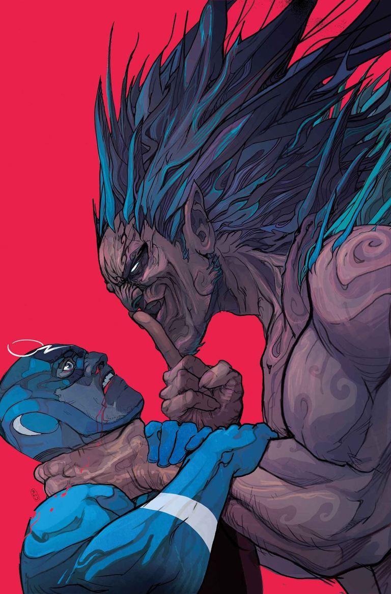 Black Bolt #10 (Christian Ward Cover)