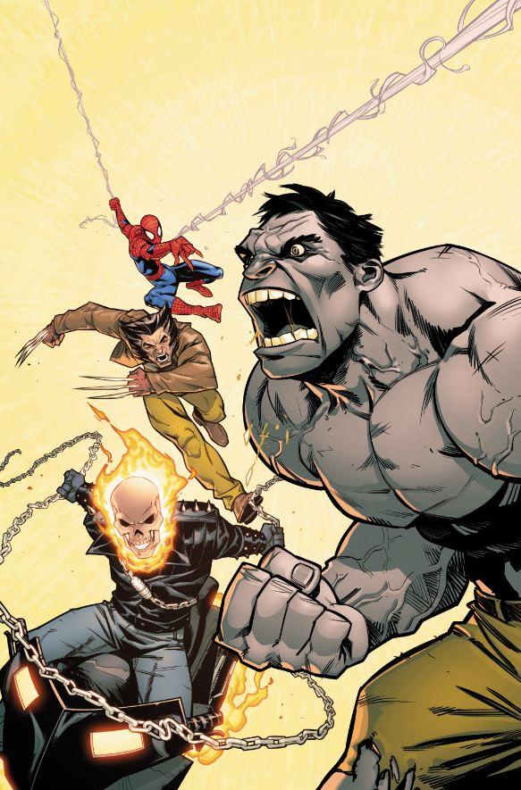 Black Panther #170 (Cover B Anna Rud Hulk Variant)