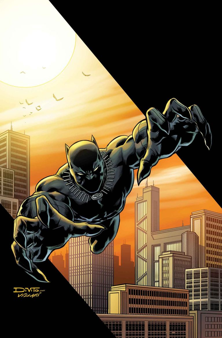 Black Panther The Sound And Fury #1 (Cover A Andrea Di Vito)