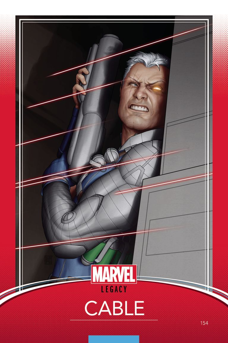 Cable #154 (Cover B John Tyler Christopher Trading Card Variant)