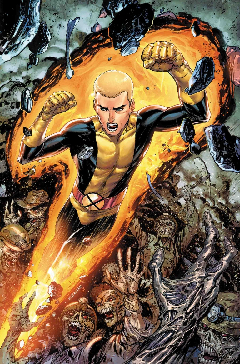 Cable #155 (Cover C Tyler Kirkham New Mutants Variant)