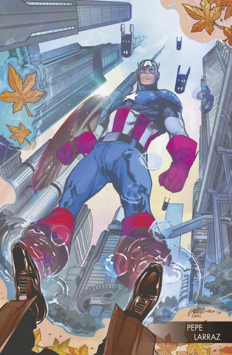 Captain America #702 (Cover B Pepe Larraz Young Gun Variant)