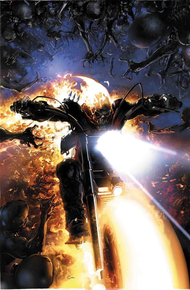 Damnation Johnny Blaze Ghost Rider #1 (Cover A Clayton Crain)