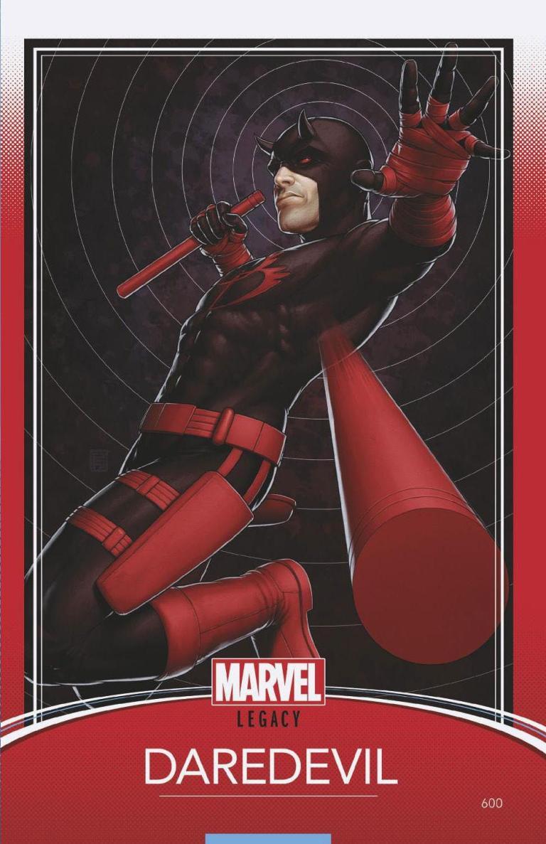 Daredevil #600 (Cover G John Tyler Christopher Trading Card Variant)