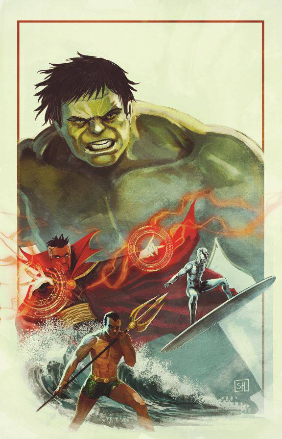 Defenders #10 (Cover B Stephanie Hans Hulk Variant)