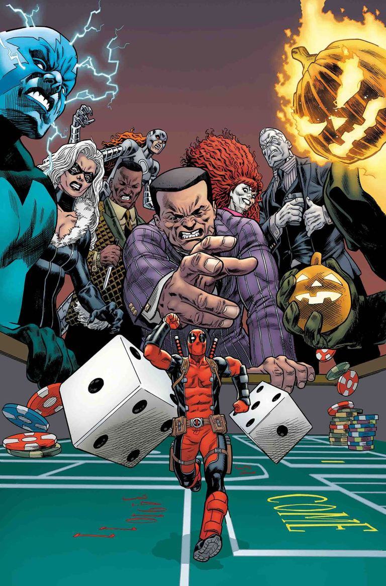 Despicable Deadpool #297 (Mike Hawthorne Cover)