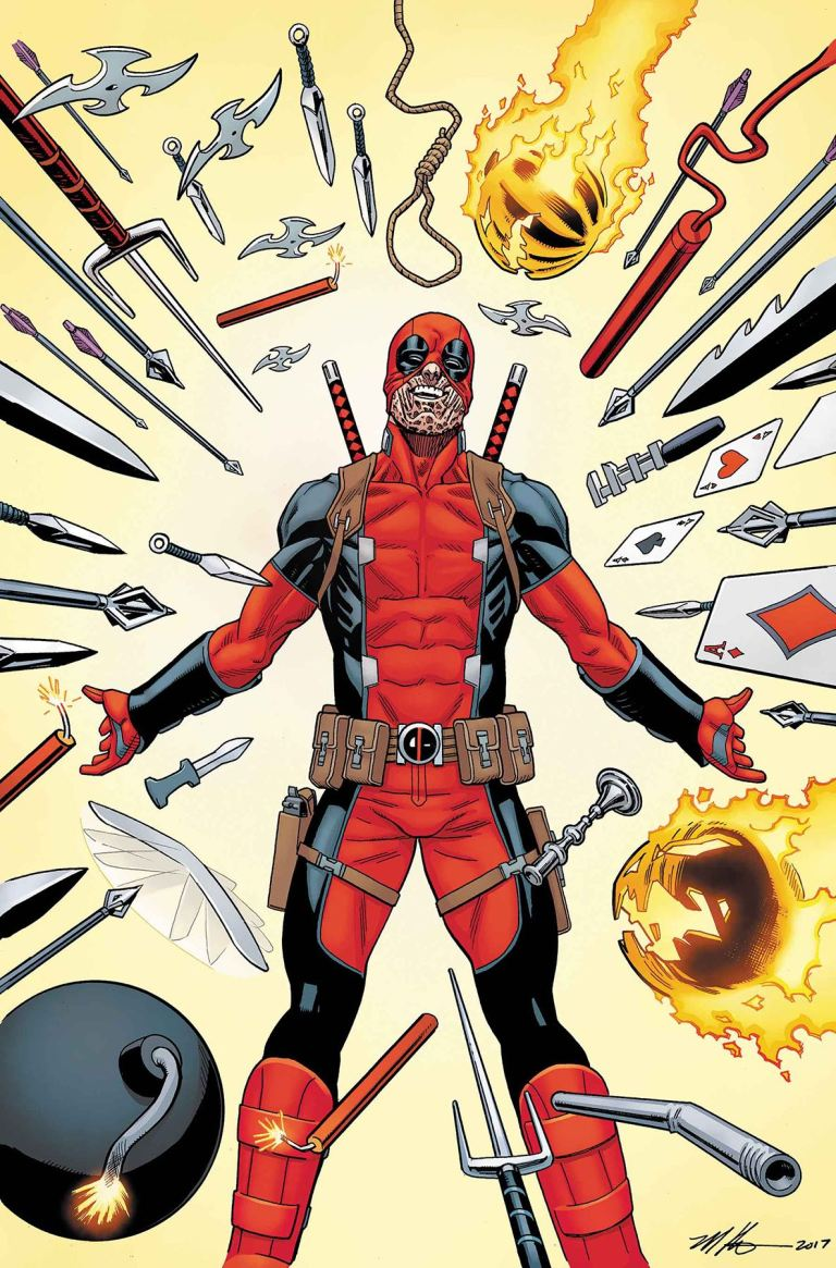 Despicable Deadpool #299 (Mike Hawthorne Cover)
