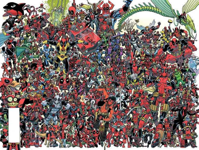 Despicable Deadpool #300 (Cover B Scott Koblish 300 Deadpools Wraparound Variant)
