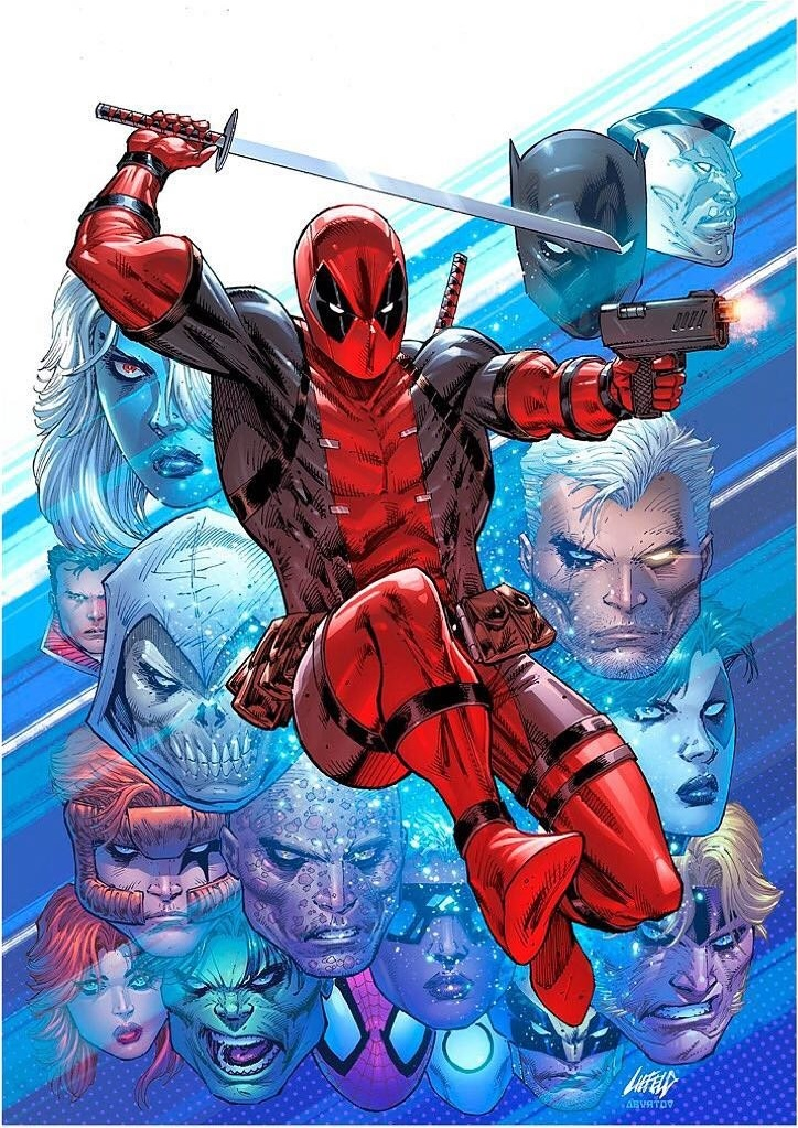 Despicable Deadpool #300 (Cover D Rob Liefeld)