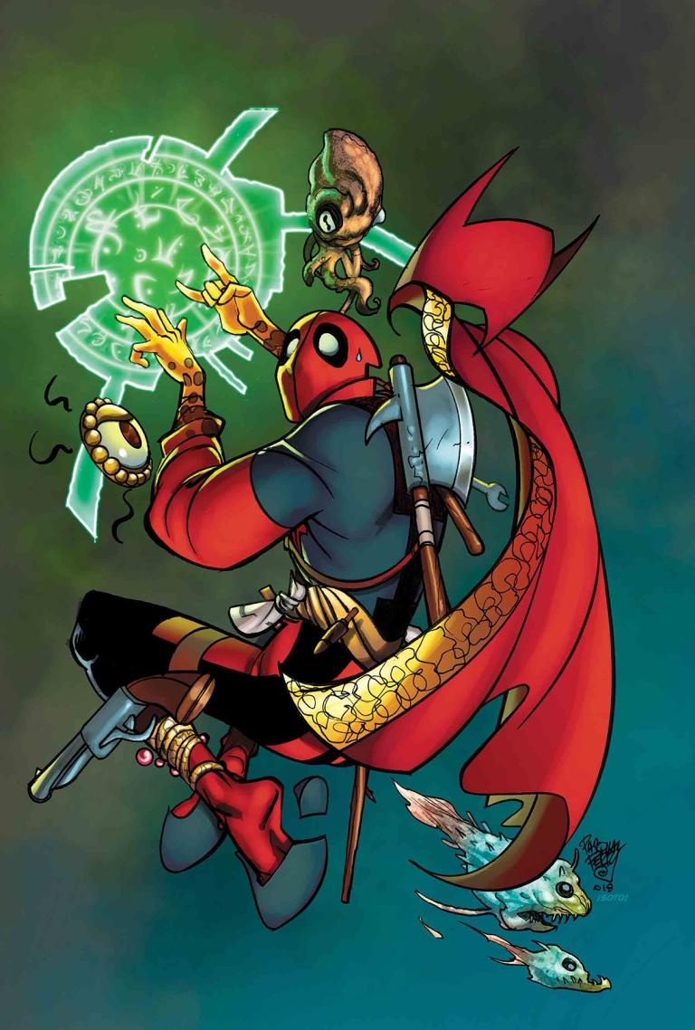 Doctor Strange #390 (Cover B Pasqual Ferry Deadpool Variant)