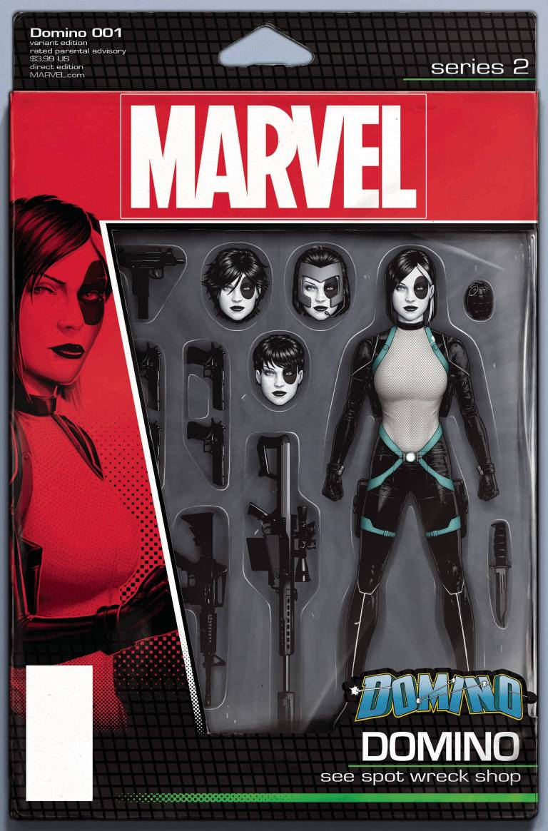 Domino #1 (Cover F John Tyler Christopher Action Figure Variant)