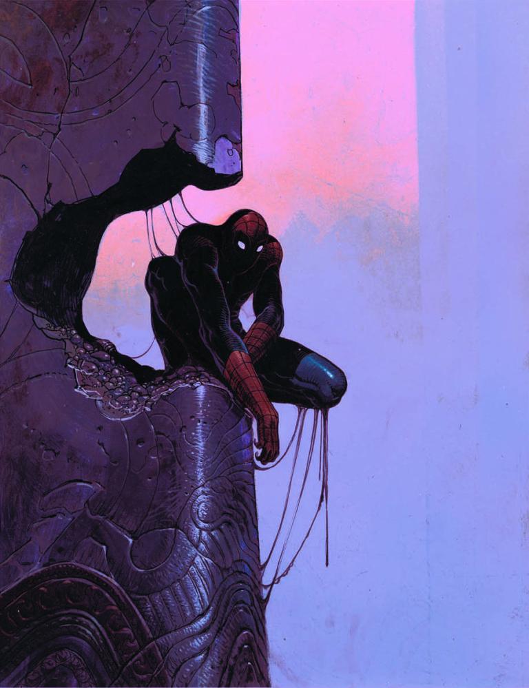 Amazing Spider-Man #800 (Cover K Moebius)