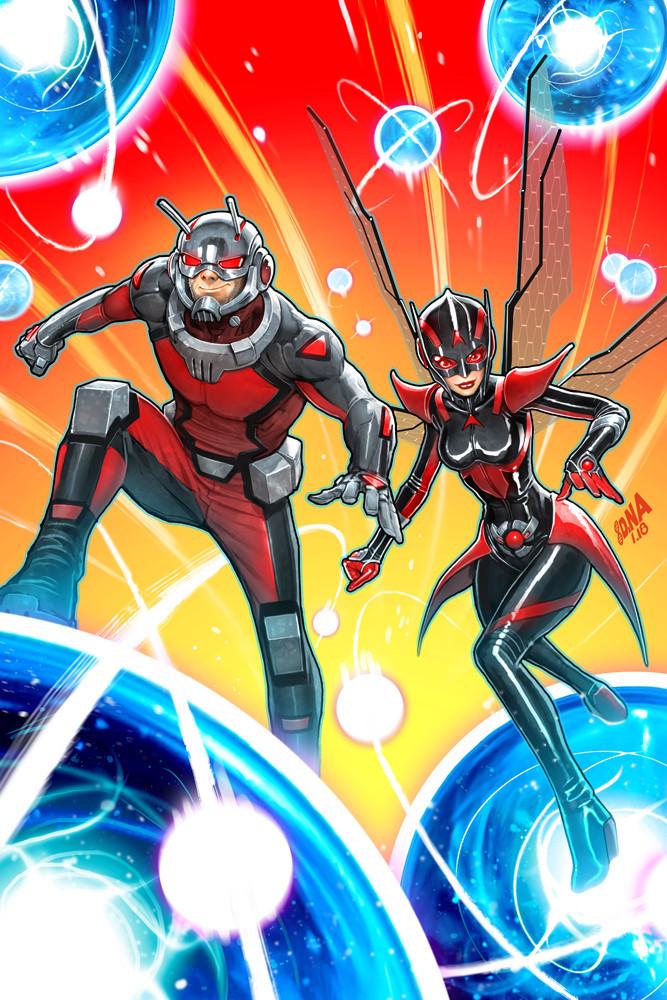 Ant-Man And The Wasp #1 (Cover A David Nakayama)