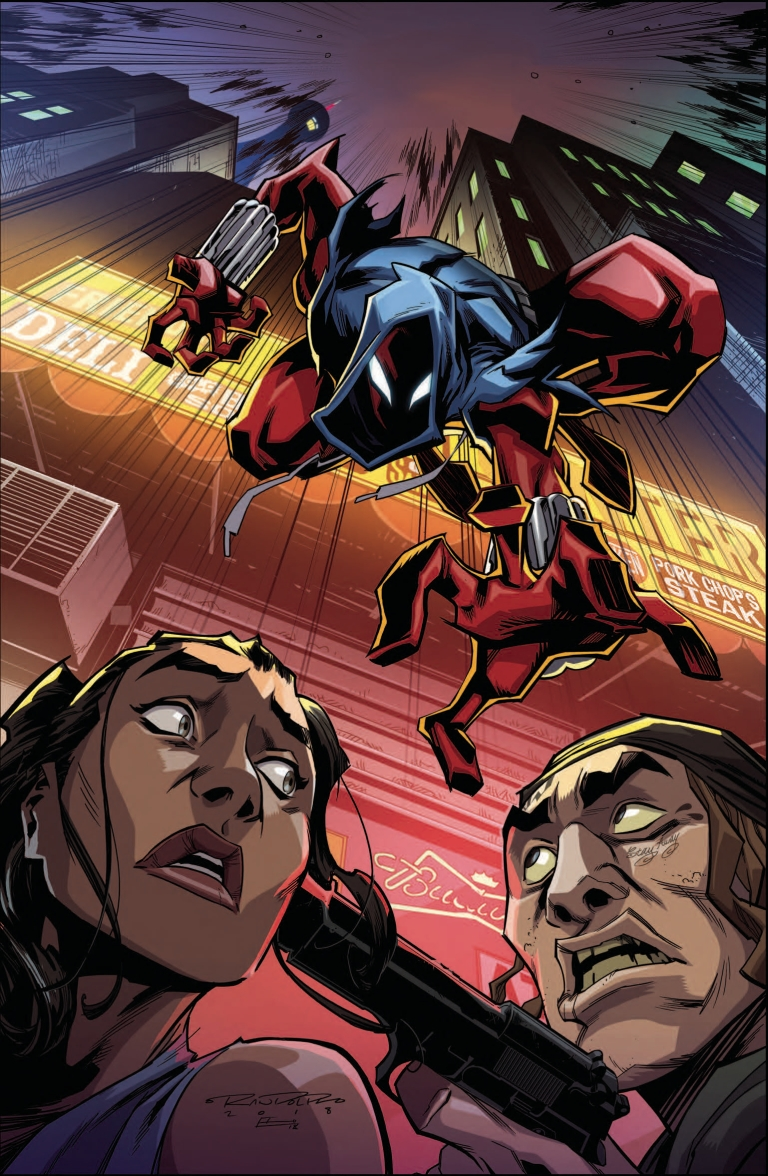 Ben Reilly The Scarlet Spider #20 (Khary Randolph Cover)