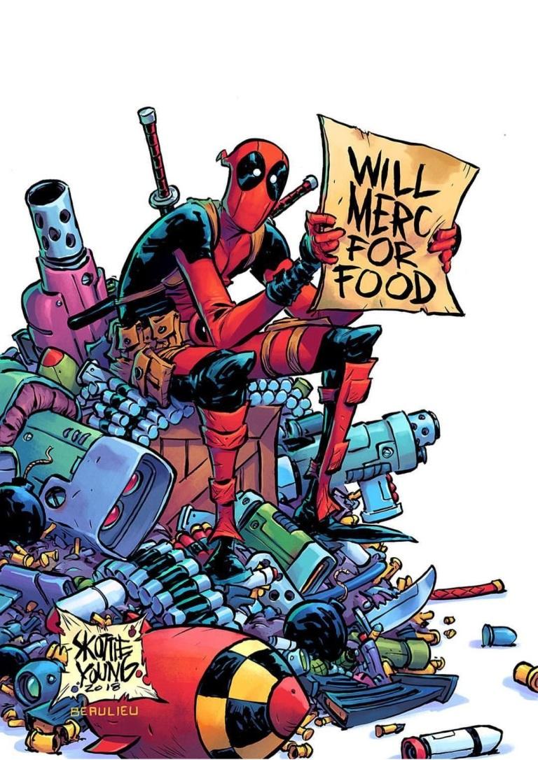 Deadpool #1 (Cover F Skottie Young)