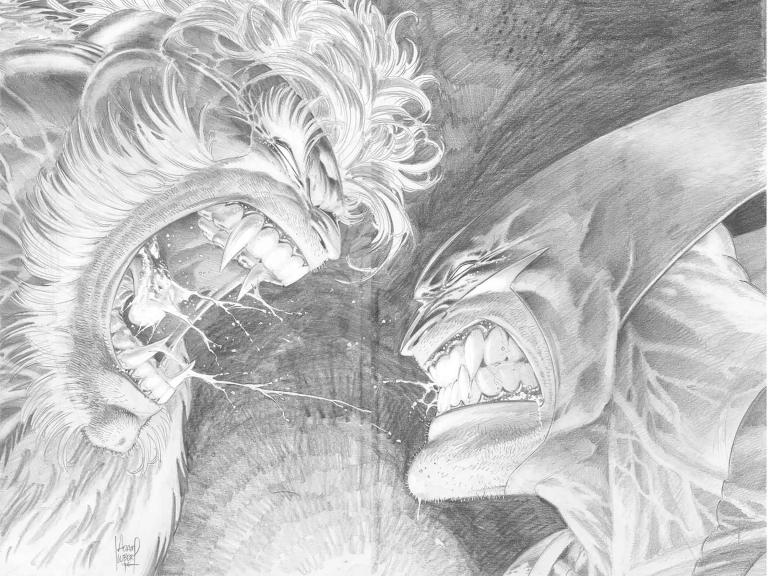 Hunt For Wolverine #1 (Cover F Adam Kubert Remastered Wraparound Black & White Variant)